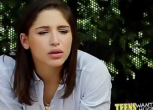 Abella Danger acquires fucked and facialized at someone's skin bus stop.TS