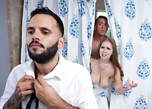 Trimmed White bitch Blows Stepson - Lena Paul Round the porn scene