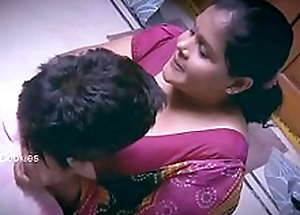 Chubby Indian / Desi Lady with younger man