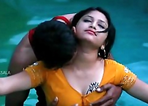 Hawt Mamatha topic regarding varlet friend in swimming pool-1