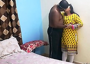 Indian college friend Shanaya aunty call at home and staggered screwed by her beau