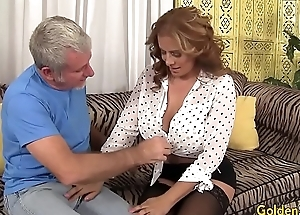 Hot and mature Nikki Ferrari fucked